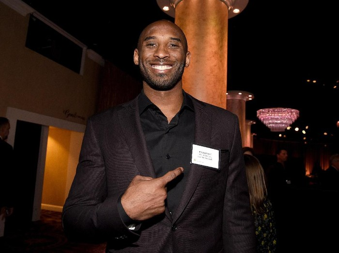BEVERLY HILLS, CA - FEBRUARY 05:  Kobe Bryant attends the 90th Annual Academy Awards Nominee Luncheon at The Beverly Hilton Hotel on February 5, 2018 in Beverly Hills, California.  (Photo by Kevork Djansezian/Getty Images)