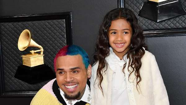 Chris Brown Ajak Putrinya di Grammy Awards 2020