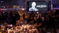 Kepergian Kobe Sisakan Duka Mendalam Bagi Warga Los Angeles