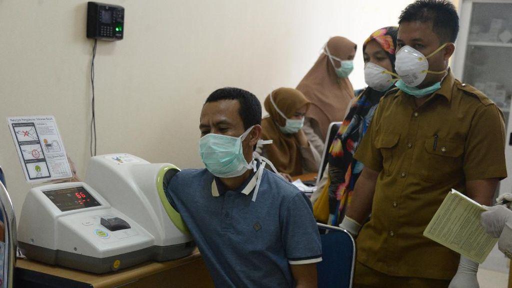 Kembali dari China, Mahasiswa Aceh Diperiksa Kesehatan