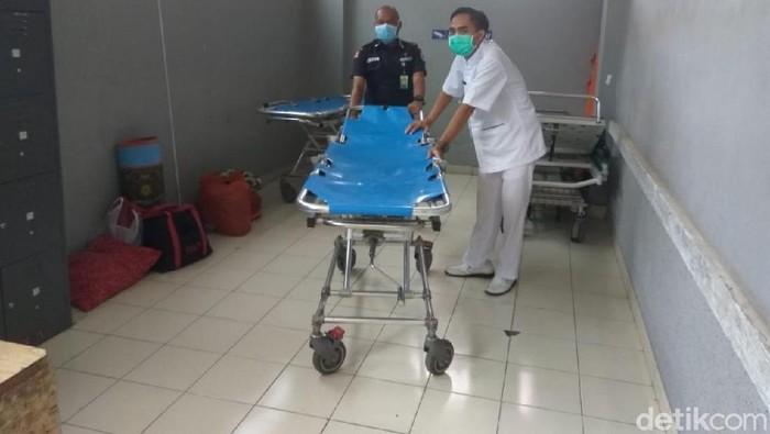 Ruang penanganan khusus virus corona di RSUD Cibabat Cimahi