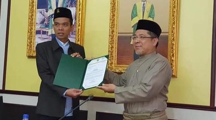 UAS jadi profesor tamu di UNISSA Brunei Darussalam (Instagram @ustadzabdulsomad_official)