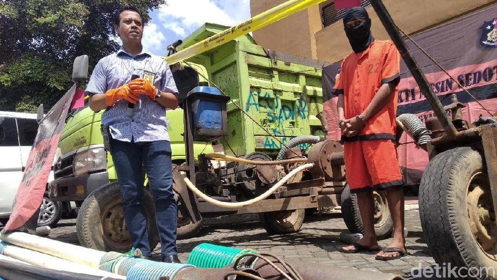 Polda DIY Tangkap Bos Tambang Pasir Ilegal di Sungai Progo