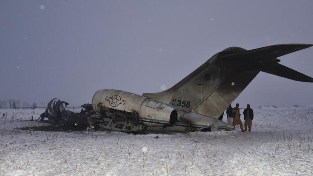 Ini Pesawat Jatuh di Afghanistan yang Diklaim Taliban Milik AS
