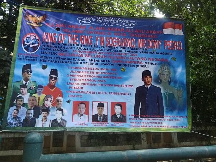 Muncul King of The King di Tangerang, Klaim Mau Lunasi Utang Negara
