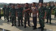 Panglima: Tugas TNI-Polri Beririsan, Bukan Rebutan Wilayah Abu-abu