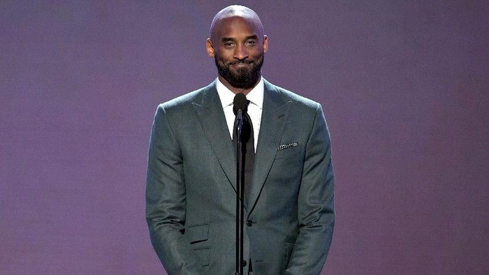 LOS ANGELES, CALIFORNIA - JULY 10: Kobe Bryant speaks onstage during The 2019 ESPYs at Microsoft Theater on July 10, 2019 in Los Angeles, California. (Photo by Kevin Winter/Getty Images)