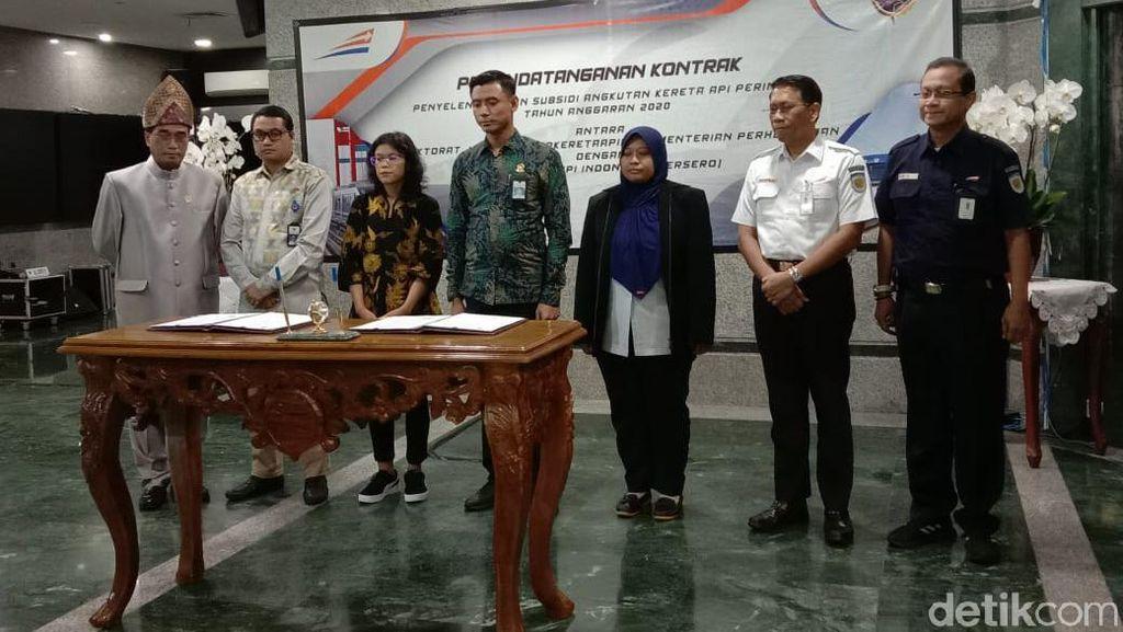 Kemenhub Siapkan Rp 159 M untuk PT KAI Kelola 5 Kereta Perintis