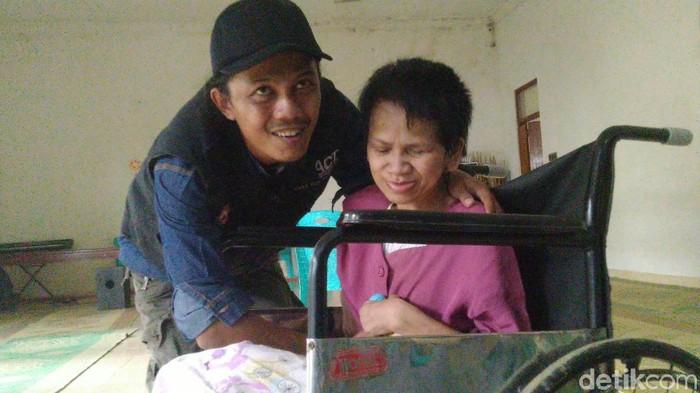 Sukiyah (50) di Rumah Pemulihan Efata, Semarang, Selasa (28/1/2020).