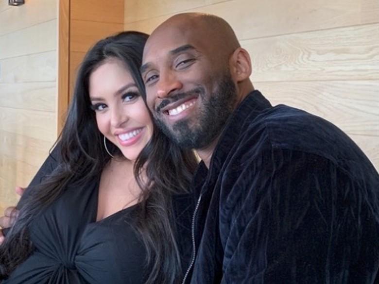 Kobe Bryant dan istrinya.