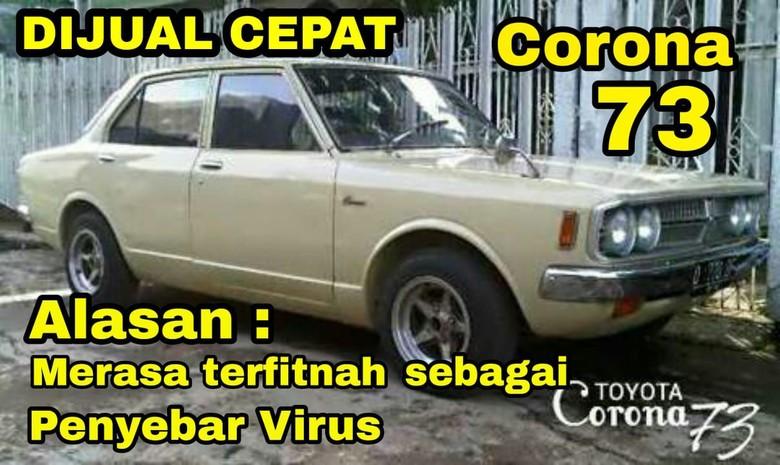 Meme Otomotif Toyota Corona Dijual Cepat