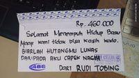 Viral Pria Beri Amplop Kosong untuk Hadiah Nikahan Teman, Tulisannya Nampol