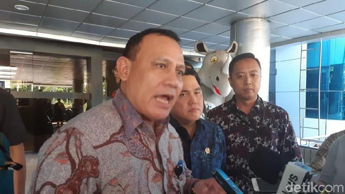 Ketua KPK Firli Bahuri Temui Menteri BUMN Erick Thohir
