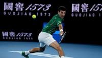 Australia Terbuka: Menang Mudah atas Raonic, Djokovic Jumpa Federer