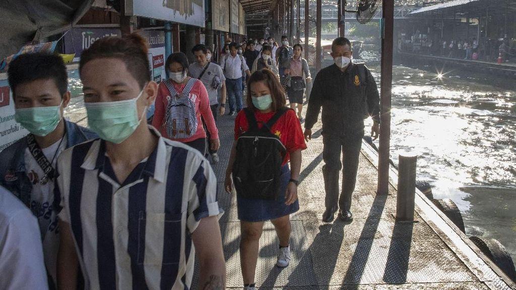 Penderita Virus Corona di Thailand Naik Jadi 14 Orang, 5 Pasien Telah Sembuh