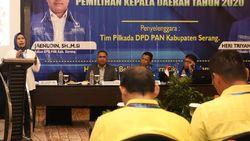 Di Depan DPP PAN, Petahana Bupati Serang Beberkan Kinerja Pembangunan
