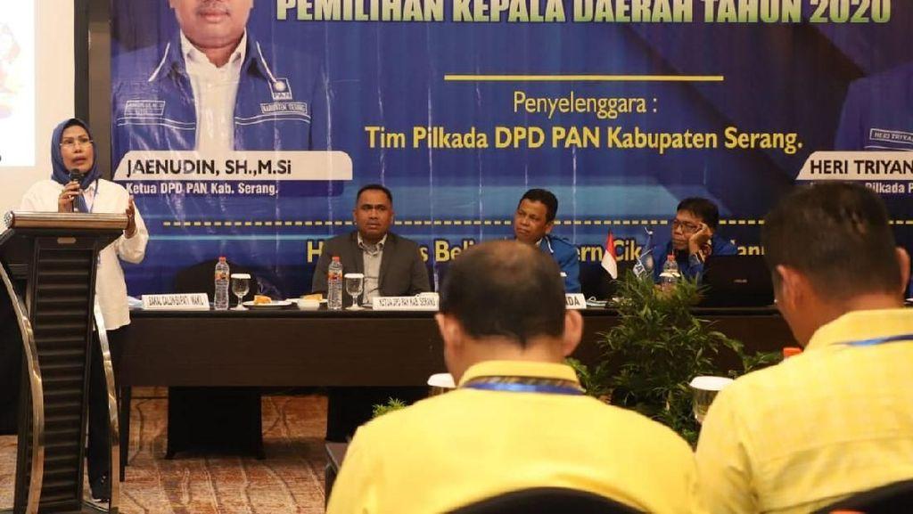 Di Depan DPD PAN, Petahana Bupati Serang Beberkan Kinerja Pembangunan