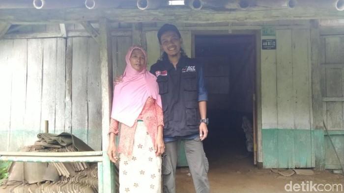 Wagiyem tetangga Sukiyah, Kabupaten Semarang, Selasa (28/1/2020).