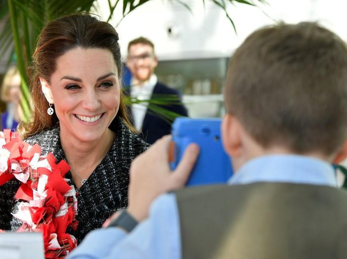 Gaya Kate Middleton Work From Home
