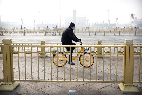 Beijing di China juga masuk dalam jajaran kota tersehat. Kota ini memiliki tingkat obesitas rendah yang didukung berbagai aktivitas outdoor yang dapat dilakukan di sana. Foto: AP Photo