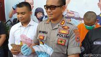 Edarkan Uang Palsu, Pengemudi Ojol di Gowa Ditangkap Polisi