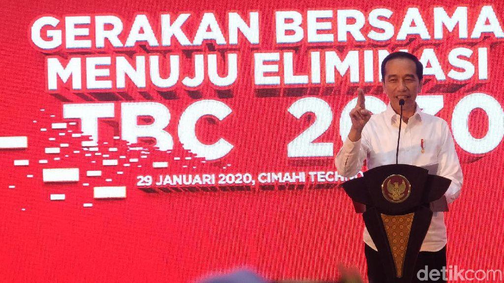Video: Jokowi Sentil Ridwan Kamil Karena TBC di Jabar Tinggi