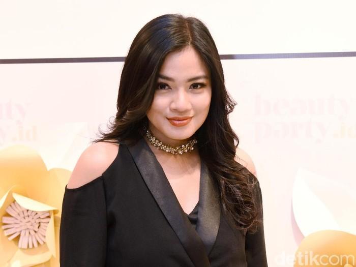 Titi Kamal saat ditemui di kawasan Grand Indonesia.