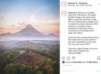 Instagram Kemenparekraf Posting Foto Borobudur yang 'Aneh'