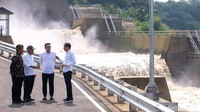 Jokowi Resmikan Terowongan Antibanjir di Bandung
