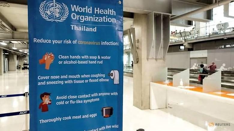 Pencegahan virus Corona di Thailand.