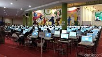 Hari Pertama SKD CPNS Pemprov Jabar Diikuti 16 Peserta Difabel