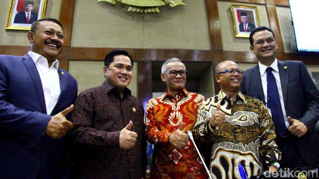 DPR Rapat Tertutup dengan Erick Thohir Bahas Jiwasraya, Ini Hasilnya