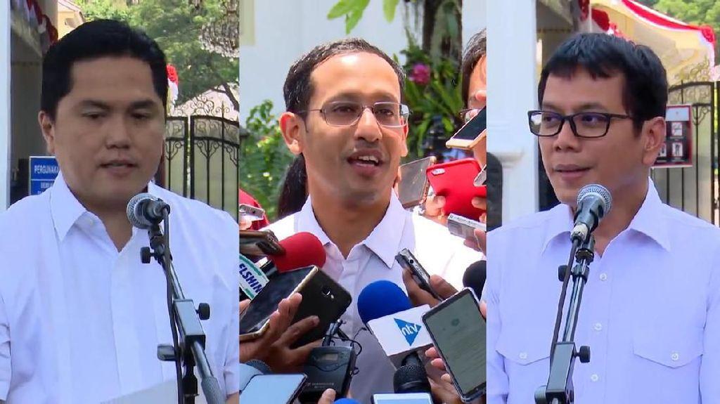 Adu Harta Menteri Erick Thohir, Wishnutama, dan Nadiem Makarim
