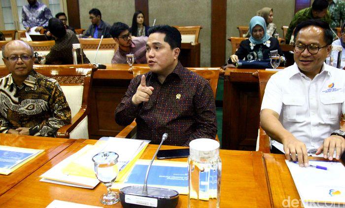 Panja Permasalahan Asuransi Jiwasraya Komisi VI DPR RI memanggil Menteri BUMN Erick Thohir.