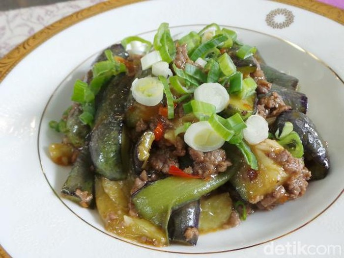 braised eggplant in szechuan style