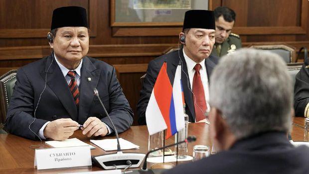Menteri Pertahanan Republik Indonesia Letnan Jenderal TNI (Purn) Prabowo Subianto melakukan kunjungan kerja ke Rusia, Selasa (28/1/2020) waktu setempat. (Dokumentasi Kementerian Pertahanan Rusia)