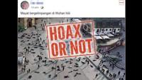 Viral Foto Mayat Bergelimpangan Disebut Efek Virus Corona, Ini Faktanya