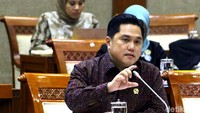 Erick Thohir Tunggu Restu Jokowi untuk Bubarkan BUMN Hantu