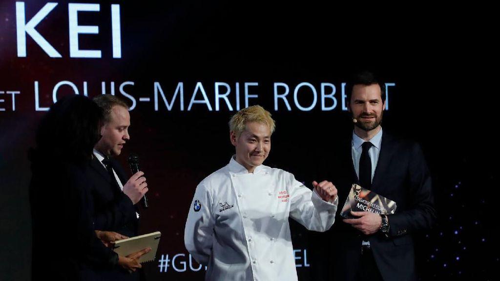 Pertama Kali! Restoran Prancis Milik Chef Jepang Ini Diganjar Bintang 3 Michelin
