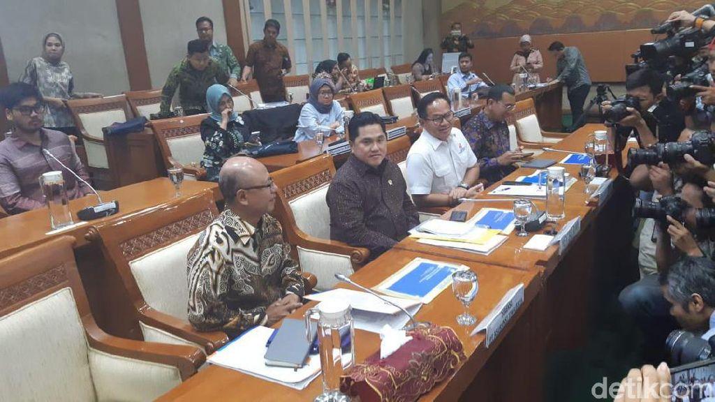 DPR Panggil Erick Thohir Buka-bukaan Kasus Jiwasraya