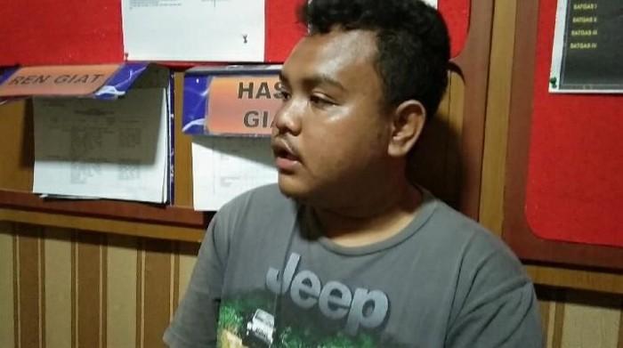Pelaku pencurian velg ditangkap polisi