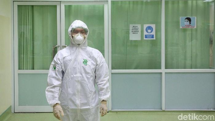 RSUD Pasar Minggu gelar sosialisasi pencegahan virus corona. Penyuluhan diberikan agar masyarakat siaga dalam menghadapi kemungkinan penyeberan penyakit itu.