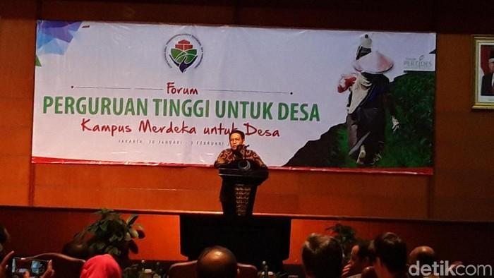 Menteri Desa, Pembangunan Daerah Tertinggal, dan Transmigrasi (Mendes PDTT) Abdul Halim Iskandar.