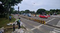 Demo Buruh Bubar, Jalan Medan Merdeka Barat Kembali Dibuka