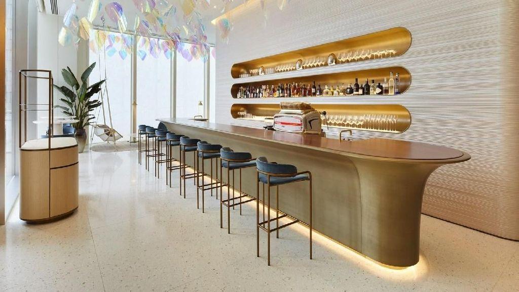 Foto: Cafe dan Restoran Louis Vuitton Pertama di Dunia
