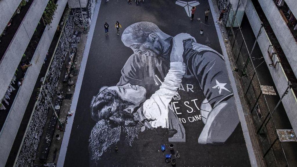 Mural Tribute untuk Kobe Bryant Hiasi Filipina dan Australia