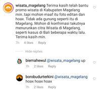 Heboh Gunung 'Lancip' di Borobudur, Ganjar: Apa Ada?