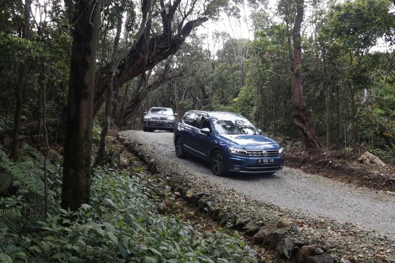 Test Drive VW Tiguan Allspace ke Bandung