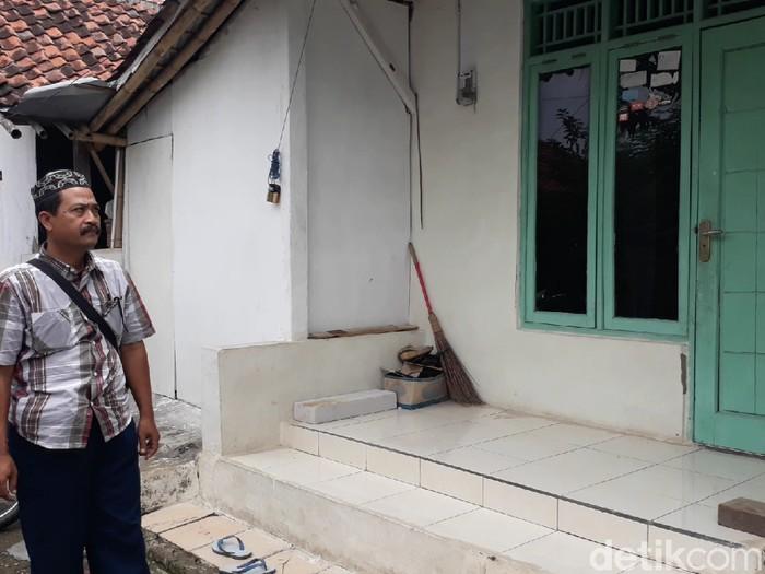 Rumah keluarga Raden Rangga di Brebes, Kamis (30/1/2020).