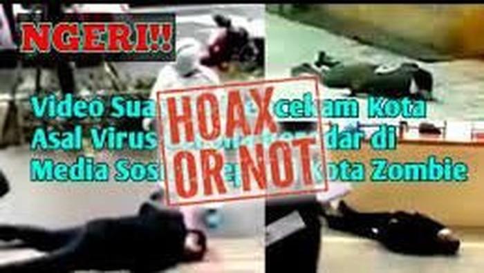 viral zombie virus corona hoax